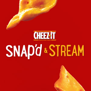 Cheez-It Snap'd & Stream