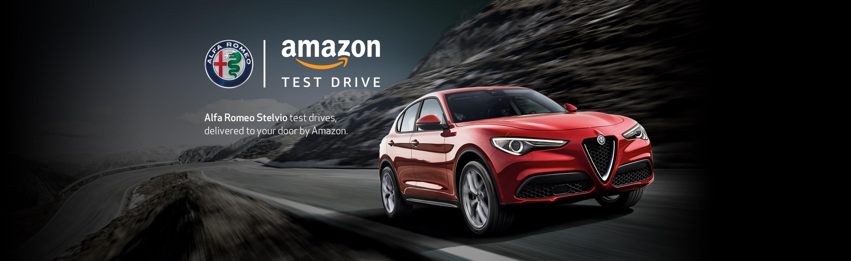 Alfa Romeo Stelvio Amazon Test Drive