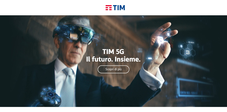 Tim 5G. Il Futuro. Insieme