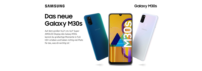 Das neue Galaxy M30s