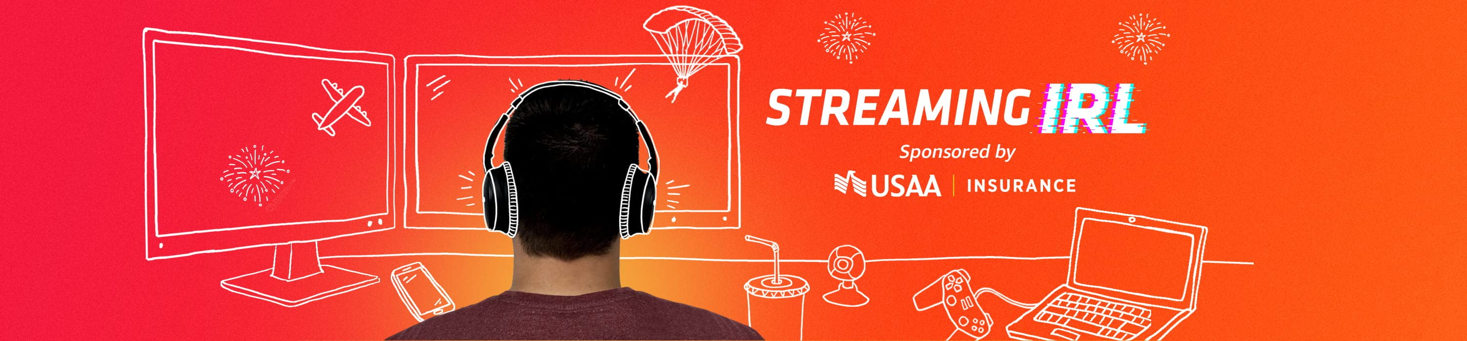 Streaming IRL featuring Powerbang Sponsored by USAA Insurance