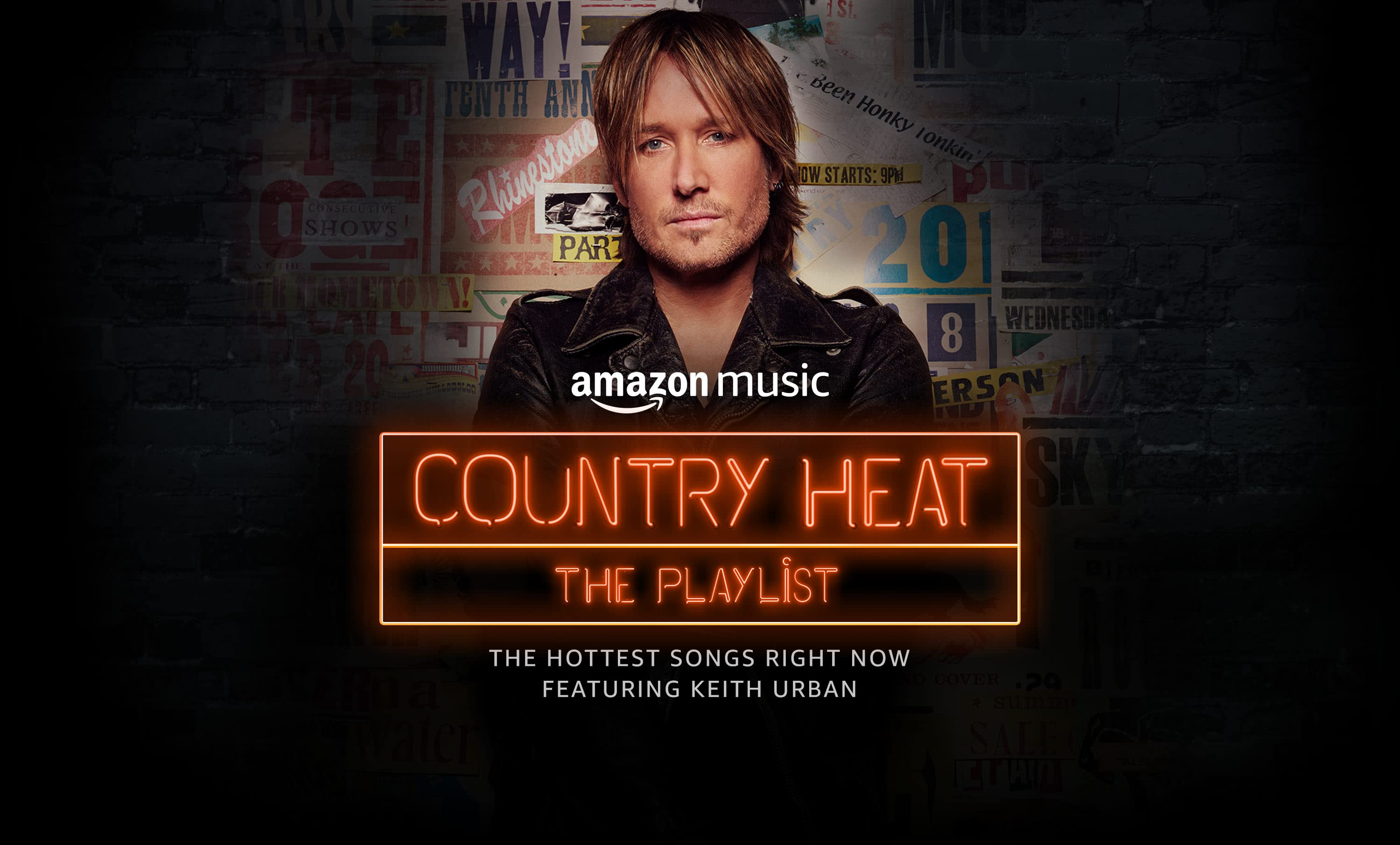 Amazon Music's Country Heat is a new playlist featuring the hottest songs right now