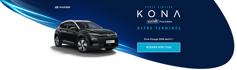 Hyundai Kona electric First Edition Amazon - header