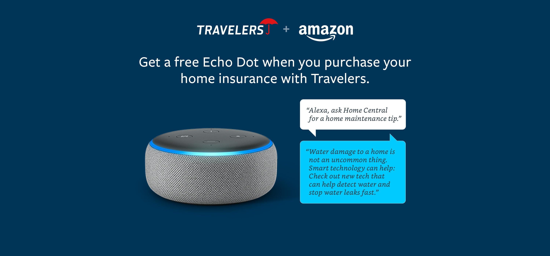 Travelers + Amazon