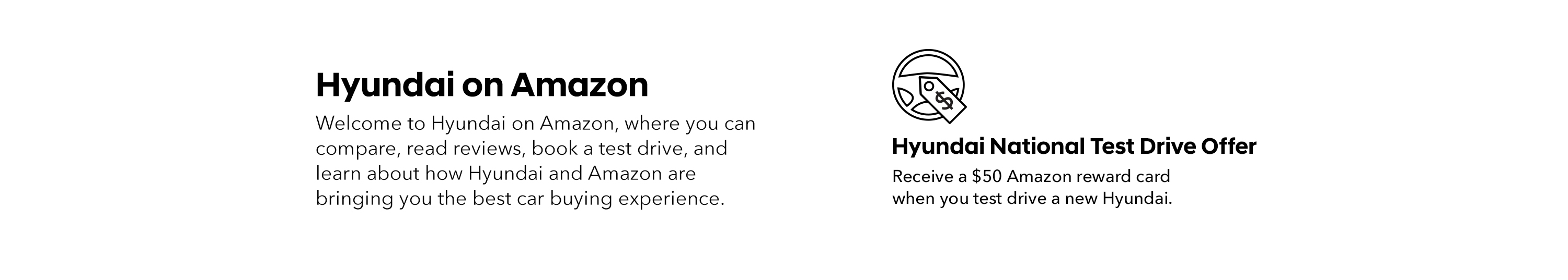 Hyundai on Amazon