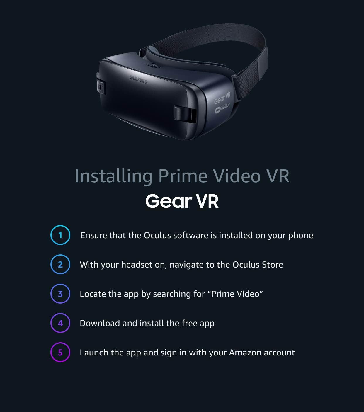 Prime Video VR
