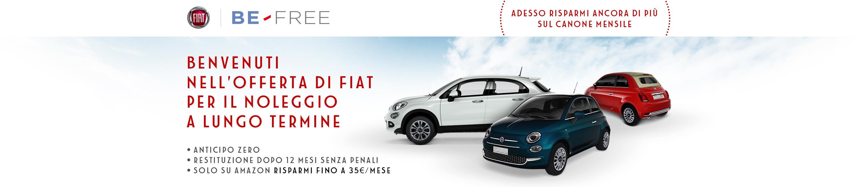 Be-Free, l'offerta di noleggio a lungo termine di Fiat