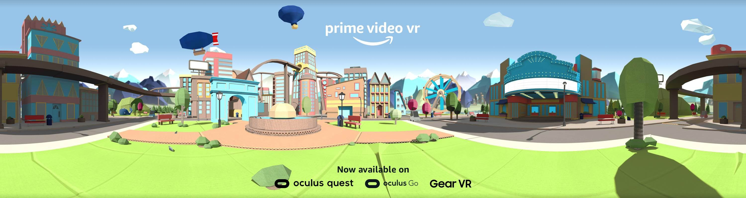 Welcome to Prime Video VR