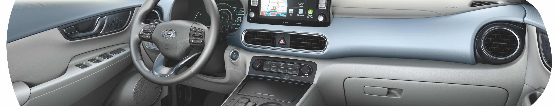 Hyundai Kona electric First Edition Amazon - Intérieur