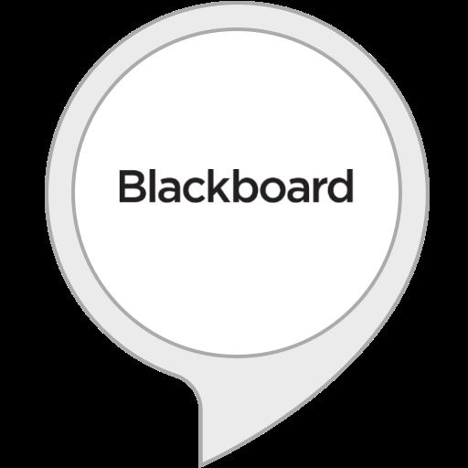 Blackboard Alexa skill