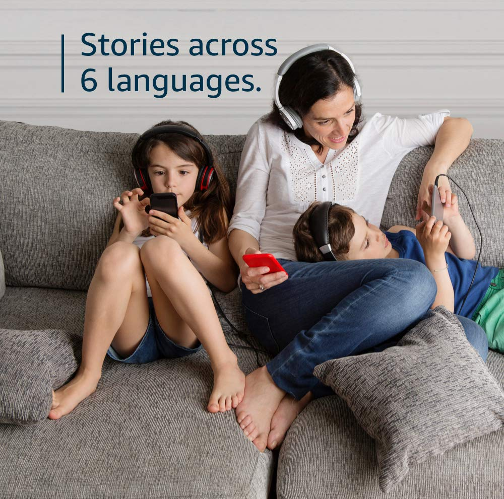 Stories across 6 languages