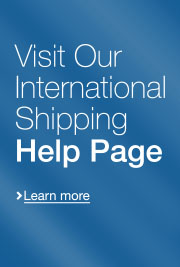 Visit our International Shipping Help Page