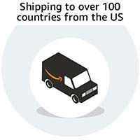 Shipping to over 100 countries