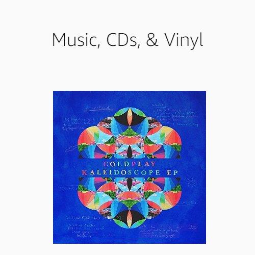Music, CDs & Vinyl
