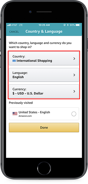 Cancel order on amazon app