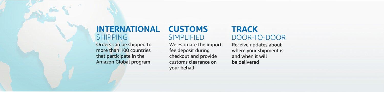 International Shipping, Customs Simplified, Track Door to Door
