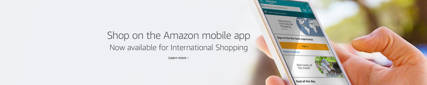 Shop Amazon's International mobile app