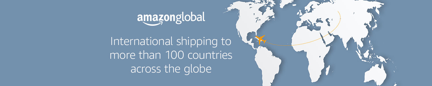 International shipping to more than 100 countries across the globe