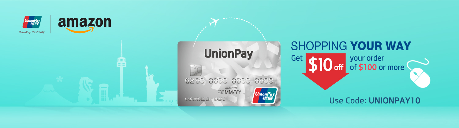 Extra 10 Off Promo Code Unionpay On Amazon Shopping By