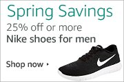 25% off or more Nike shoes for men