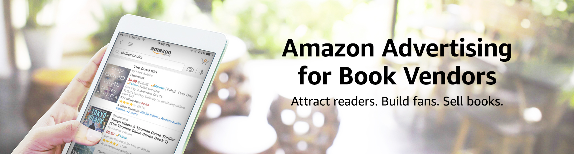 Amazon Marketing Services for Book Vendors