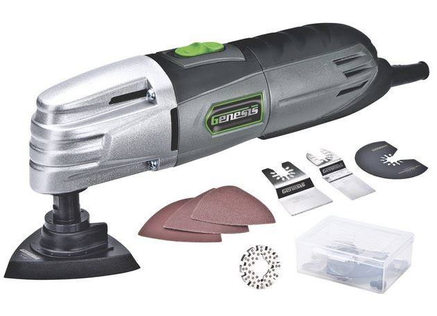 What Are The Different Types Of Power Tools: Genesis GMT15A Multi-Purpose Oscillating Tool