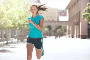 Female Running