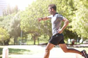 Male Running
