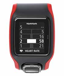 A full screen graphic shows you what percentage of your run you spent in each heart rate zone