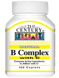 Natural B Complex with C