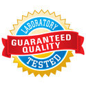 Guaranteed Quality - Laboratory Tested