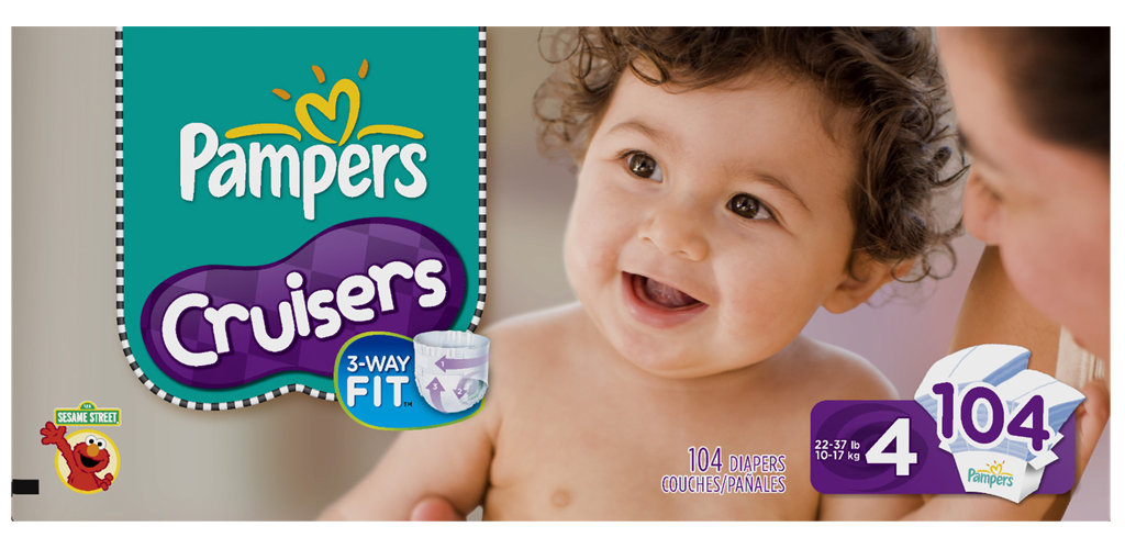 amazon com pampers baby dry diapers economy plus pack size 1 276