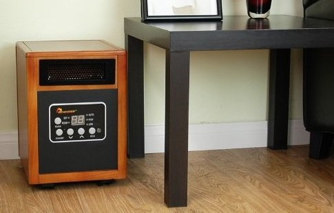 dr infrared heater portable space heater 1500 watt home kitchen. Black Bedroom Furniture Sets. Home Design Ideas