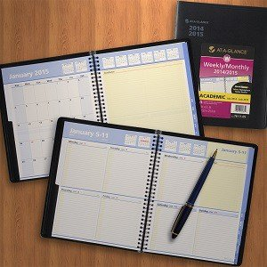 at a glance 2014 2015 academic year quicknotes weekly and monthly
