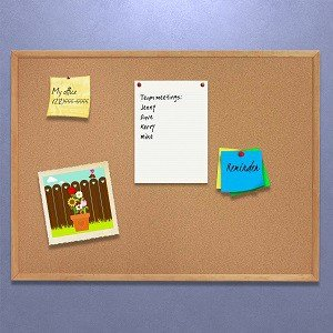 Amazoncom Quartet Corkboard Framed Bulletin Board 2 X 3 Cork