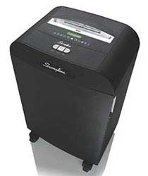 Swingline DX18-13 Cross-cut Jam Free Shredder, 5-10 Users