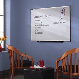quartet prestige total erase whiteboard 3 x 2 feet aluminum finish frame