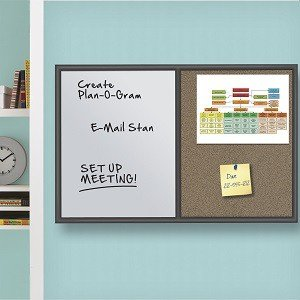 Combination Whiteboard/Cork Bulletin Board