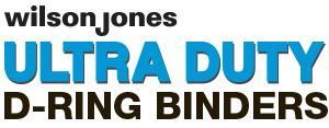 Wilson Jones Ultra Duty D-Ring Binders logo