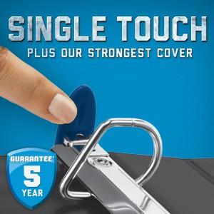 Single Touch D-Ring Binder
