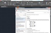 AutoCAD help screen