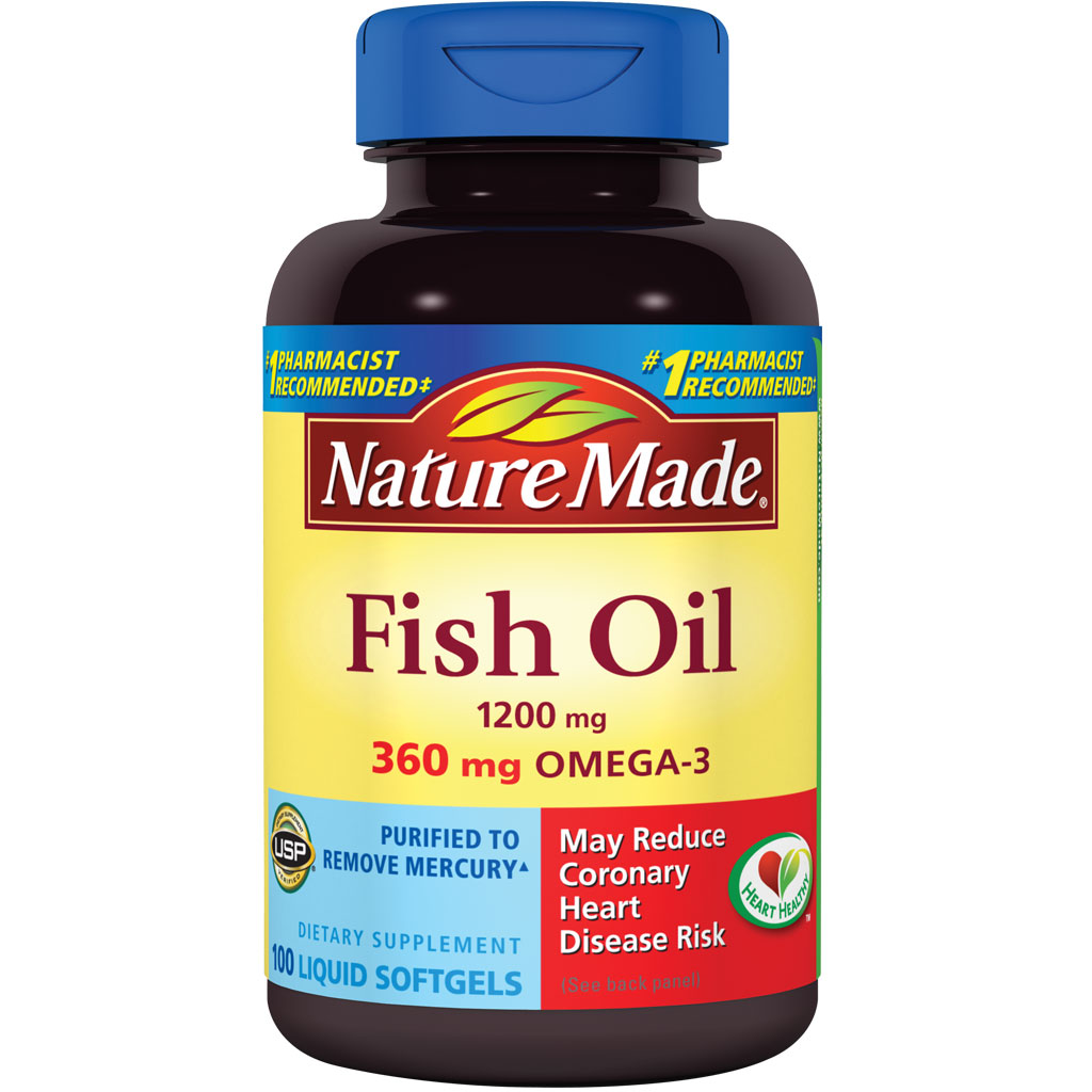 Nature made fish oil 1200 mg w omega 3 360 mg for Fish oil costco