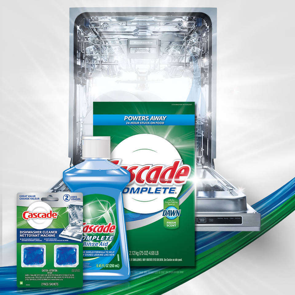Amazon.com: Cascade Complete, Powder Dishwasher Detergent