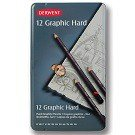 Graphic Pencils, Hard, 12-Ct.