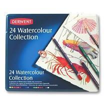 Watercolor Pencils, 24-Ct.