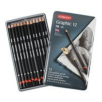 Graphic Pencils, Soft, 12-Ct.