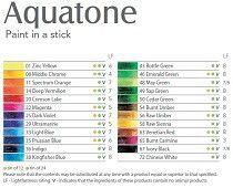 Aquatone color chart
