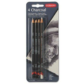 Charcoal Pencils, 4-Ct Pack