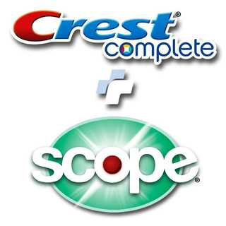 Crest Complete Whitening + Scope