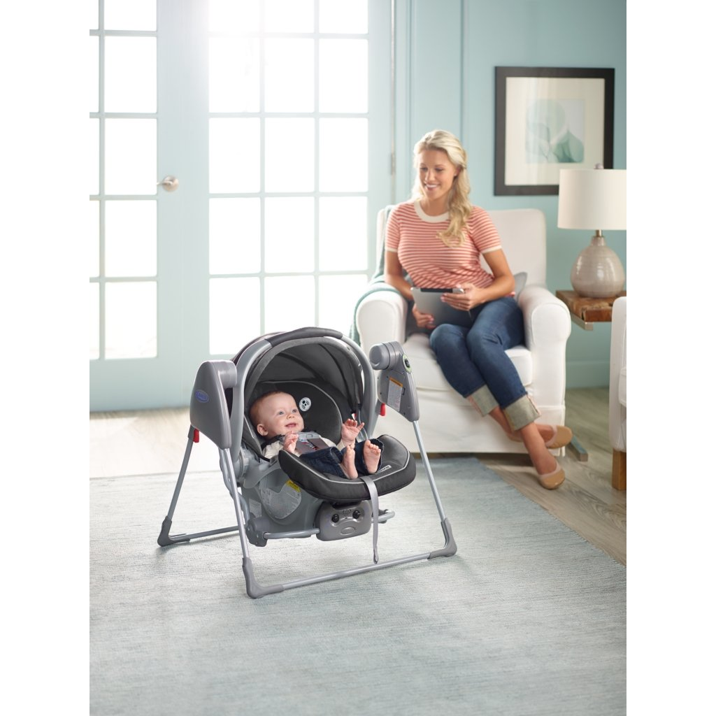 Amazon.com : SnugGlider Classic Connect Infant Car Seat Swing Frame ...